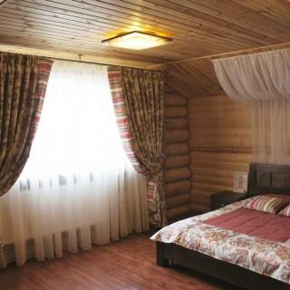 Пос. Хотежино. Комплект Интерьерного текстиля в стиле кантри. В спальню Дмитрия.