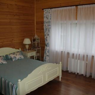 Шторы Прованс, в комплекте с покрывалом и подушками. Для спальни Натальи и Александра.